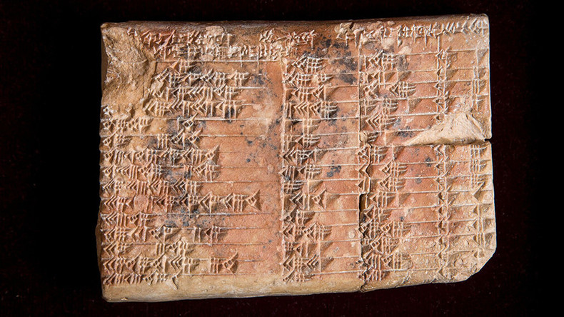 Sine of the times: Mysterious 3,700yo tablet reveals ancient Babylonian trigonometry  (VIDEO)
