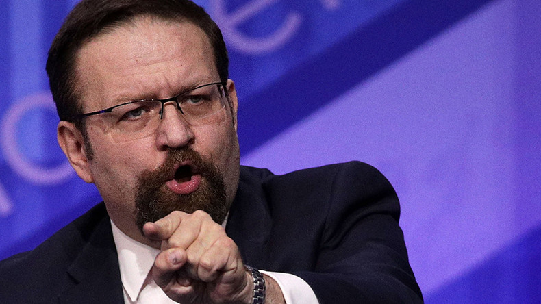 Counterterrorism advisor Gorka out of White House, following Bannon & Scaramucci – reports