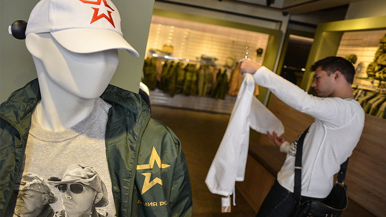 'Army of Russia' clothing brand out to conquer foreign markets