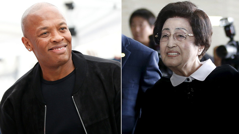 Fine for blogger over claim Dr Dre & S. Korea's 94yo former first lady would marry