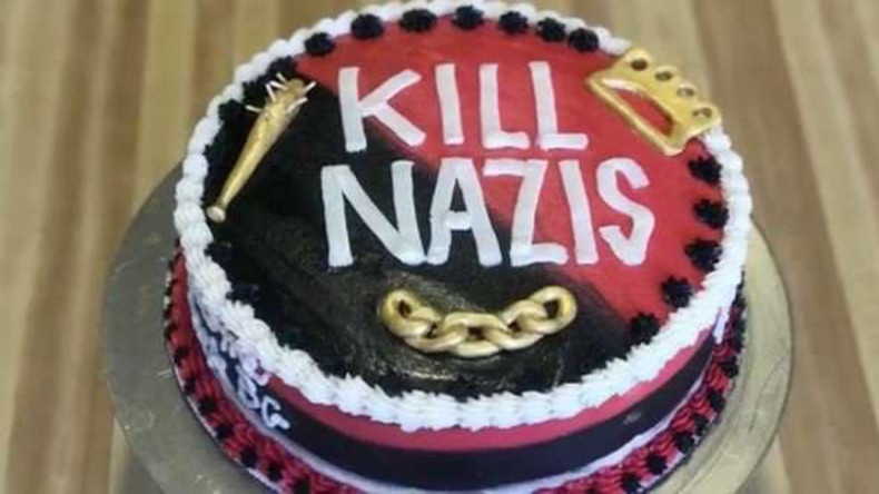 Baker who made 'Kill Nazis' cake & vagina donuts sparks seething online response