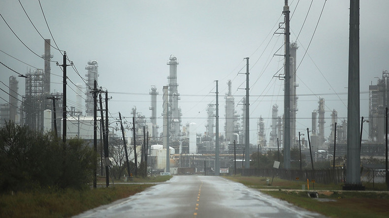 Why oil prices keep falling with US refineries knocked out by storm