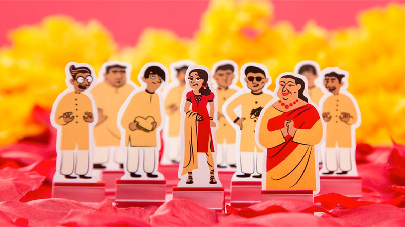 'Arranged marriage' board game dedicated to 'women stuck with abusive husbands'