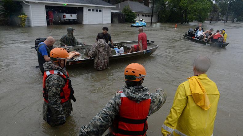 US sports community raises millions to aid Harvey relief efforts