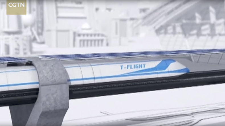 Hyperloop 2.0? Chinese company proposes 4,000kph 'flying train'