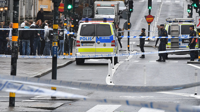 'Completely unprovoked': Police officer injured in reported knife attack in Stockholm