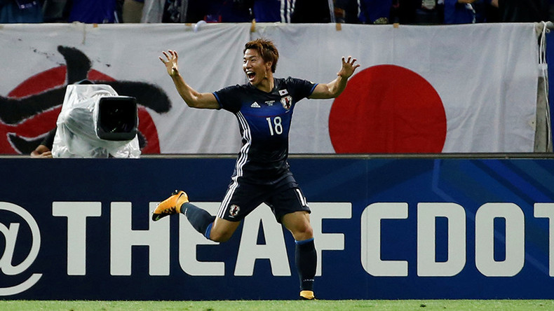 Japan qualify for Russia 2018 World Cup after victory over Australia