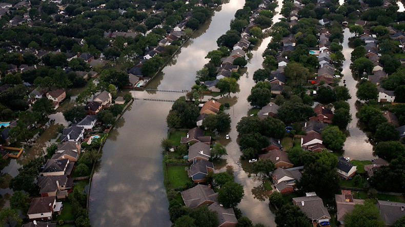 'Worst flood ever' hits Houston in wake of Hurricane Harvey