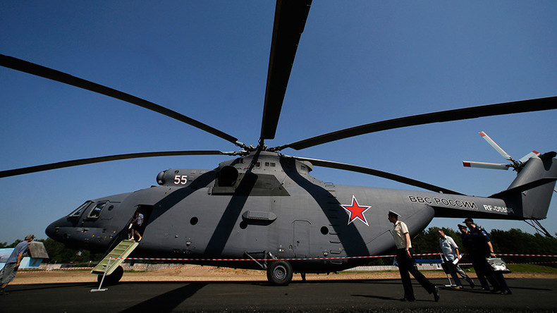 Russia & China plan joint production of at least 200 heavy lift helicopters