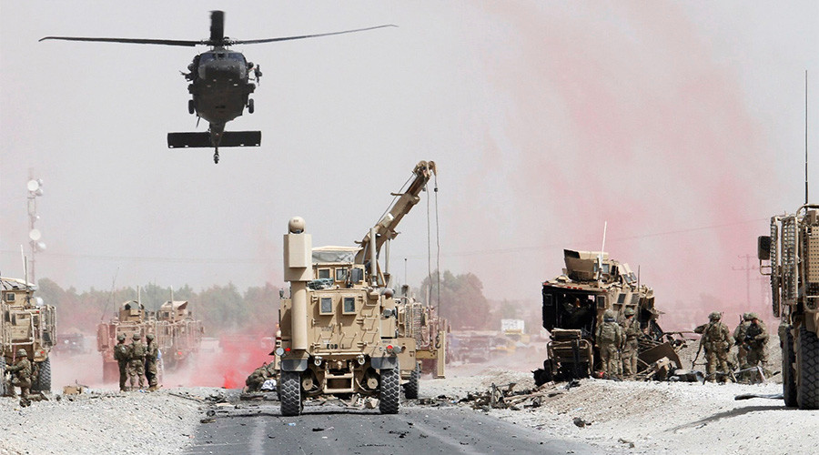 2 US soldiers dead in attack on NATO convoy in Afghanistan (VIDEO)