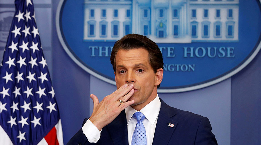 'You're fired!': Scaramucci beats former Pope, POTUS for least days in office