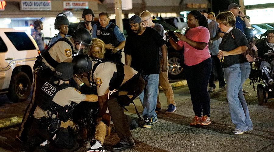 Ferguson protest lawsuit revived by appeals court