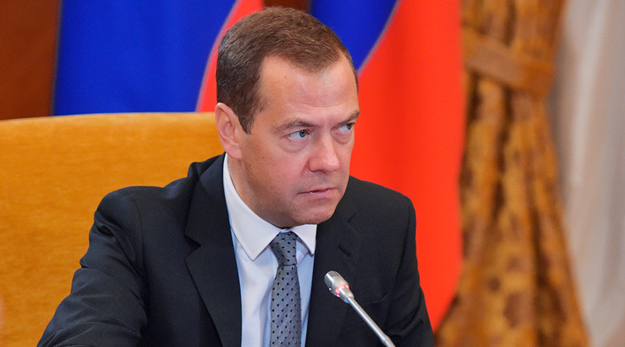 'Full-fledged economic war': Medvedev slams Trump's 'humiliating' cave-in on Russia sanctions