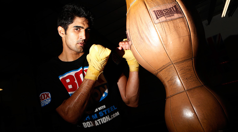 Pugilist diplomacy: Champion boxer offers to give up title to resolve Indian-Chinese dispute