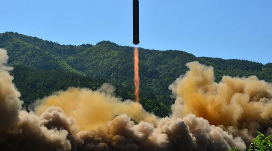 N. Korea ponders striking US base in Guam after Trump threatens Pyongyang with 'fire & fury'