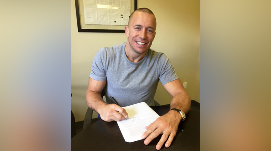 Georges St-Pierre finally announces Michael Bisping fight date