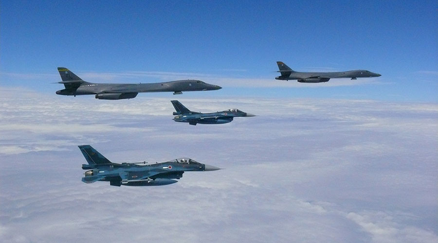 'Best of bad options': US has plan to strike N. Korea nuclear sites with B-1 bombers, reports say