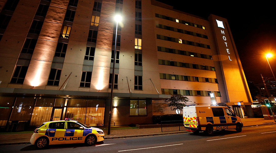 Police raid Manchester hotel after traffic incident involving child