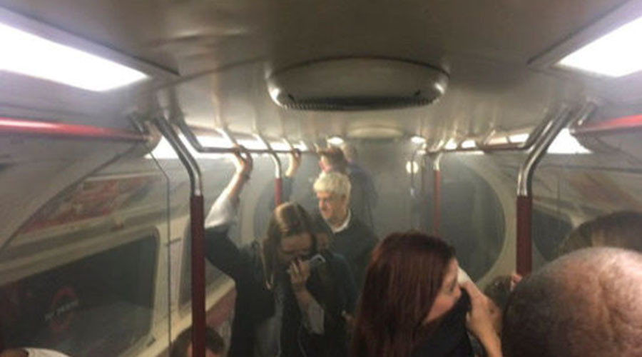 Smoke fills London Underground train at Oxford Circus forcing evacuation (PHOTOS)