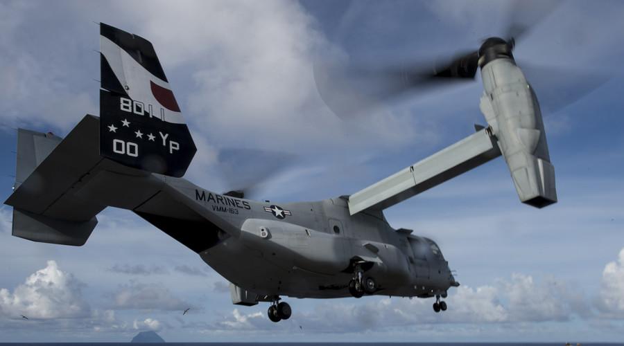 Japan allows US to continue Osprey flights despite fury after fatal crash