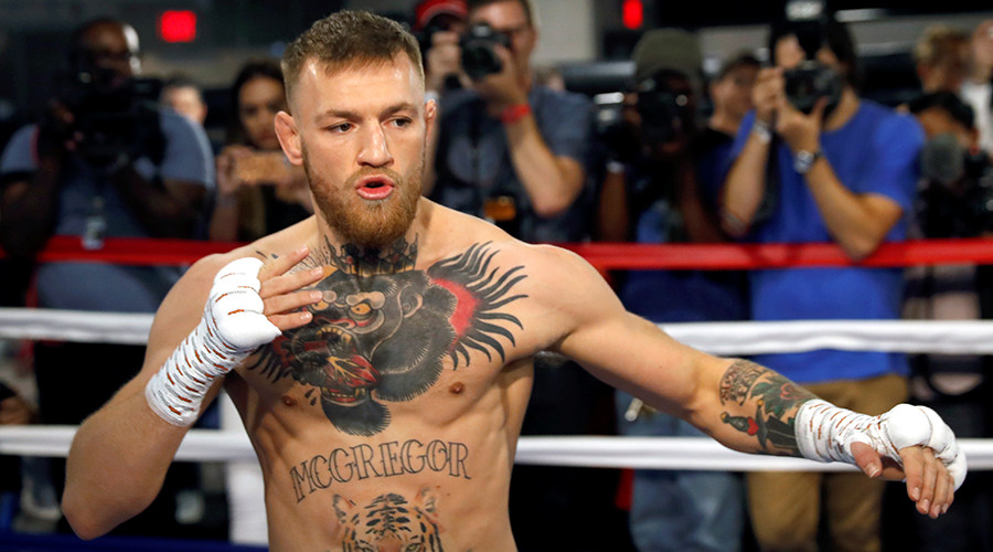 Rare insight into McGregor boxing prep shows former boxing champ floored by UFC star (VIDEOS & POLL)