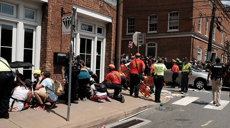 'It was an intentional attack': Eyewitness describes deadly Charlottesville car plowing incident