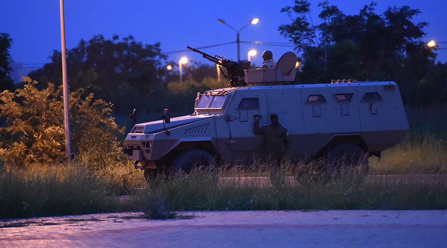 17 dead in suspected jihadist attack on Turkish cafe in Burkina-Faso