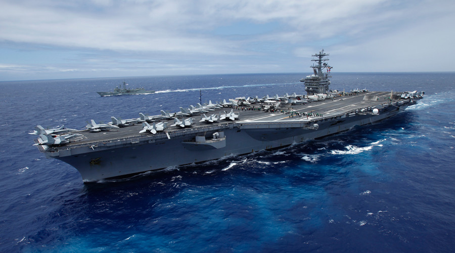 Carrier buzzed by Iranian drone in Persian Gulf - US Navy
