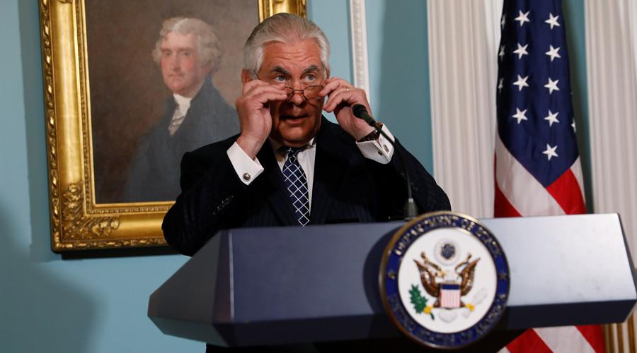 Tillerson calls out Turkey, Bahrain, Saudi Arabia & Iran over religious freedom