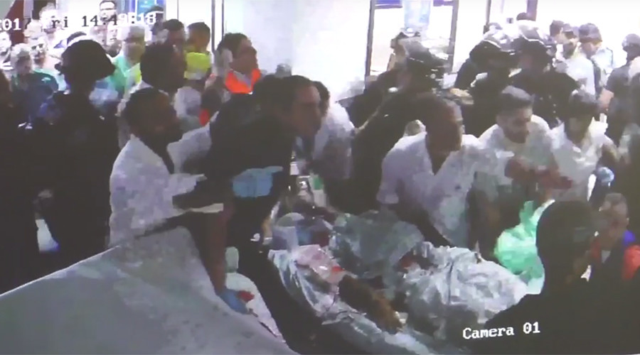 Israeli police raid on hospital over critically wounded Palestinian caught on film