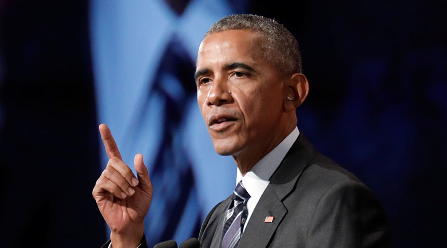 Obama sets 'likes' record on Twitter over Charlottesville violence