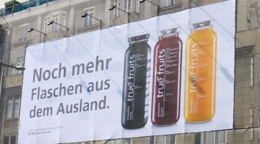 'Racist' smoothie ads in Austria spark online controversy (PHOTOS)
