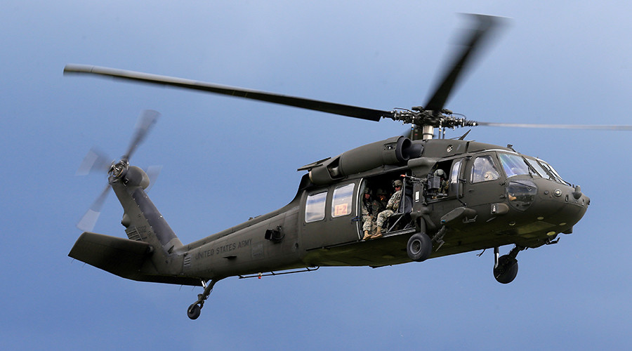 Black Hawk down: 5 feared dead in Army helicopter crash off Hawaii