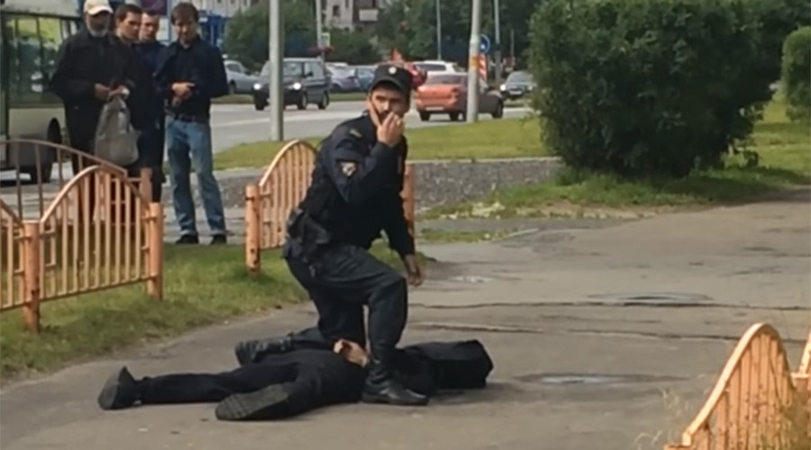 Knife attack in Russian city of Surgut, 7 injured, assailant killed by police (PHOTOS, VIDEO)