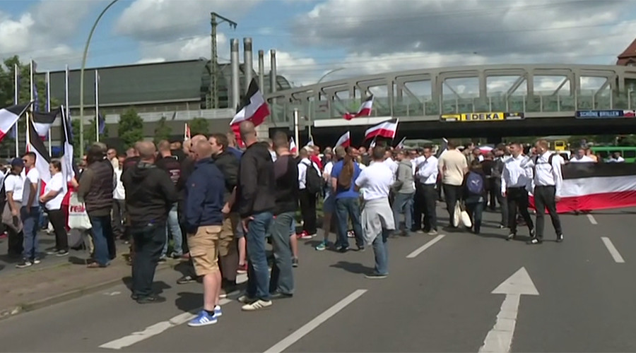 Berlin police on standby as Neo-Nazis gather for march to pay tribute to Hitler's right-hand man