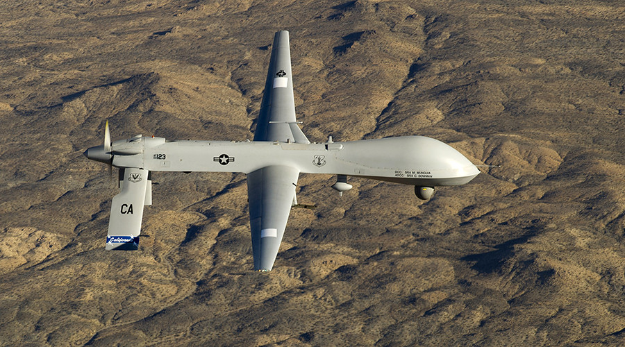 Us Predator Drone Crashes In Turkey