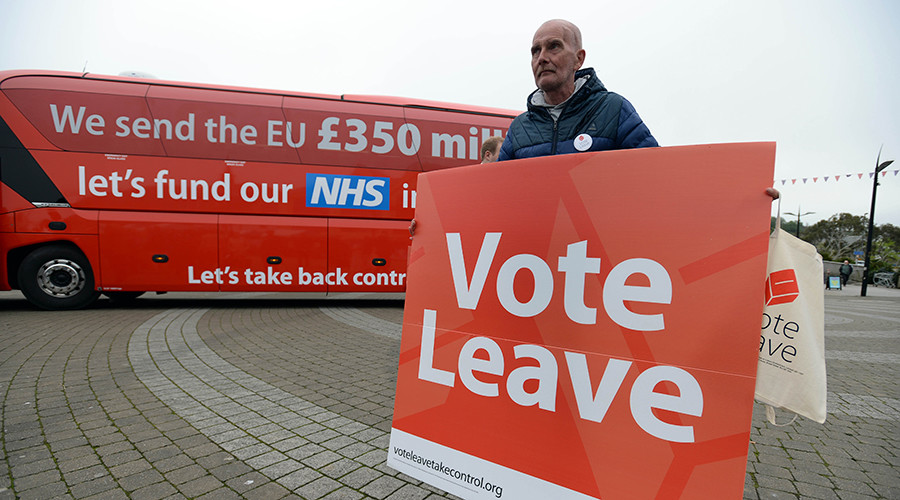Quarter of Brexit voters feel 'misled' by Leave campaign, poll finds