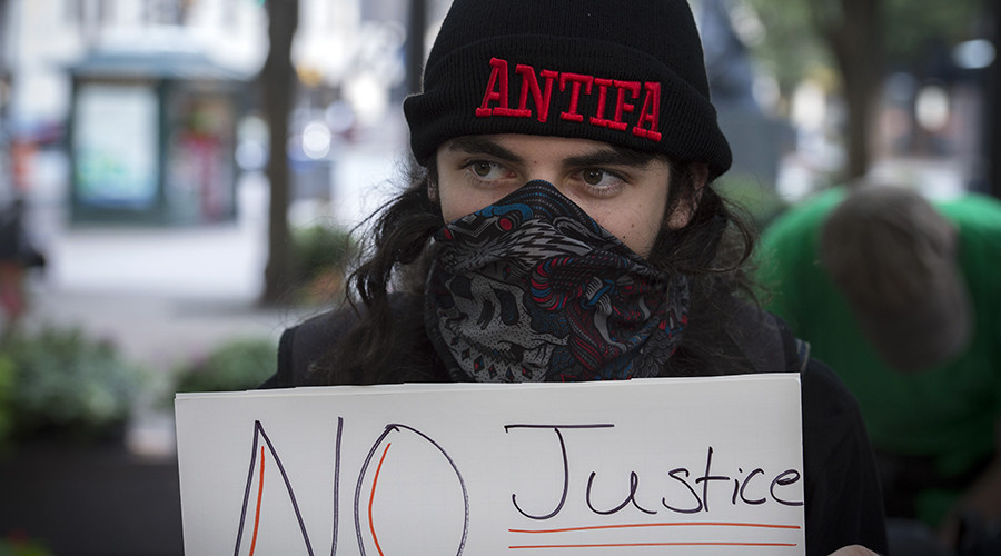 US Liberals cozy up to Antifa, America's anti-free speech 'Taliban'