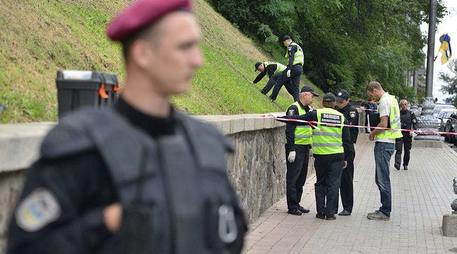 Blast in Kiev govt quarter injures 2 as US Defense Secretary Mattis visits on Independence Day