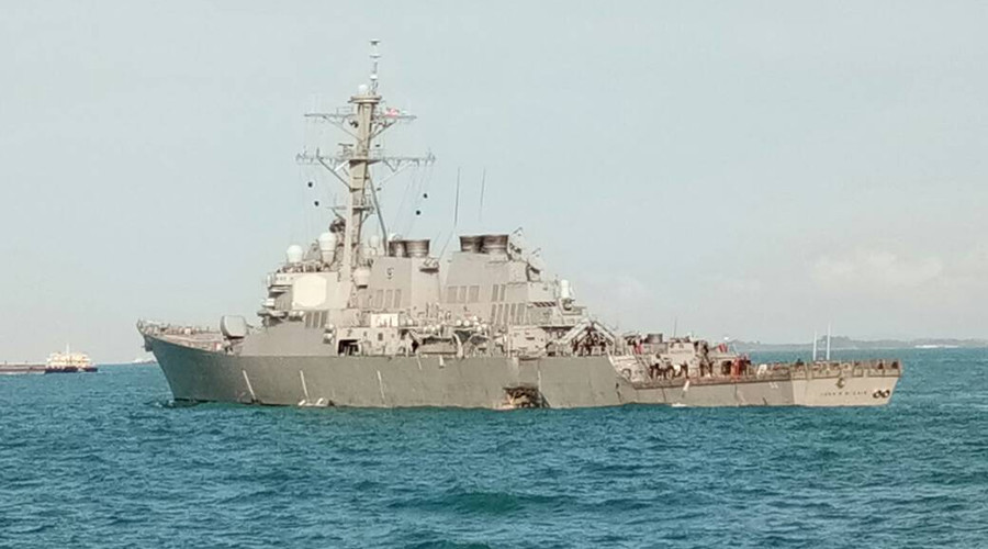 China accuses US of damaging navigation safety with military activities at sea