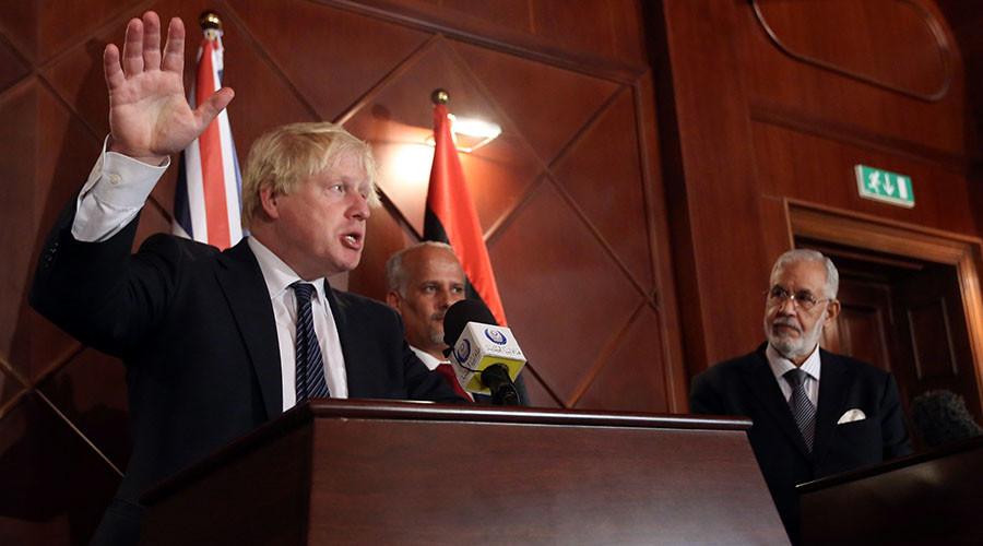 Boris Johnson's 'advice' for Libya – don't jump the gun on elections like Theresa May did