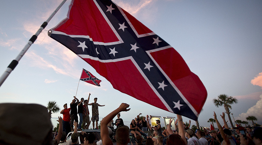 Confederate flag maker 'overwhelmed' by orders as tensions flare