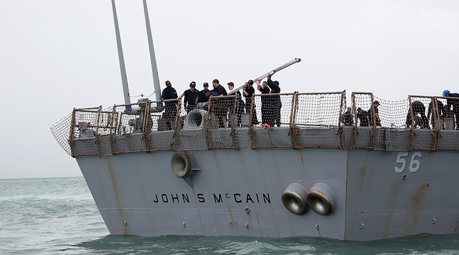 US Navy recovers remains of all 10 sailors killed in USS John S. McCain collision