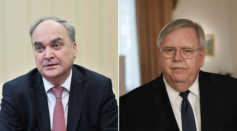Russia's new ambassador to US meets counterpart in Moscow