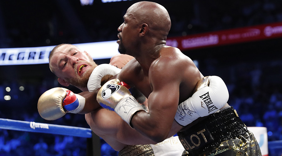 Mayweather trolled by Russian UFC fighter over MMA cage clip (VIDEO)