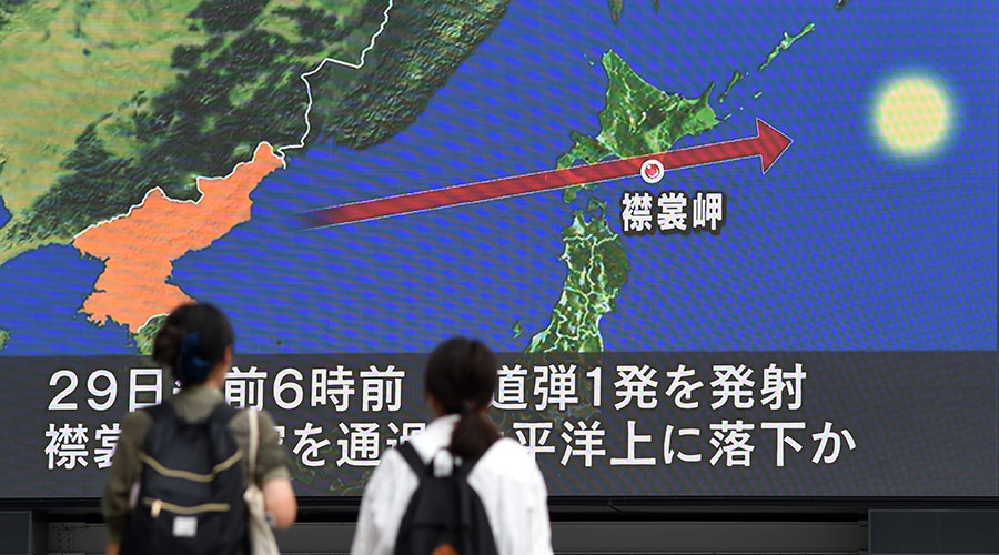 China warns tensions on Korean Peninsula at 'tipping point' after Pyongyang missile launch