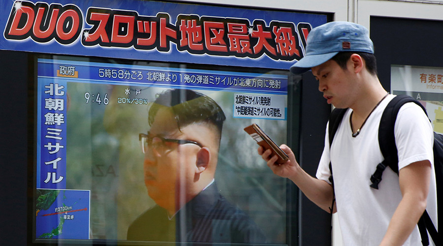 Sirens blare as Japan wakes to North Korea missile warnings (VIDEOS)