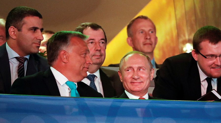 Putin promises judo lesson to Hungarian PM Orban