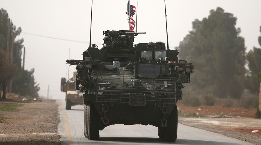 US-led coalition exchanged fire with rebels in Syria – spokesman