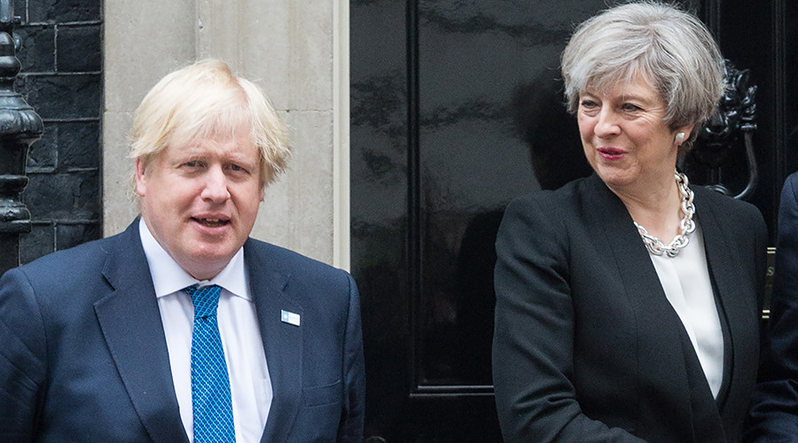 Theresa May expresses 'full confidence' in Boris Johnson following 'clown' claims